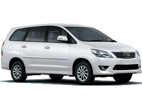 A Budget Family SUV Taxi Preferred for Outstation Trips in India