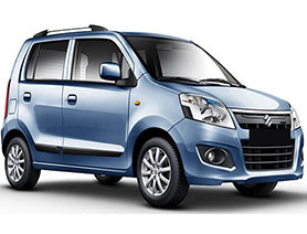 A Hatchback Budget Category Taxi for Local and Short Distance Trips in India