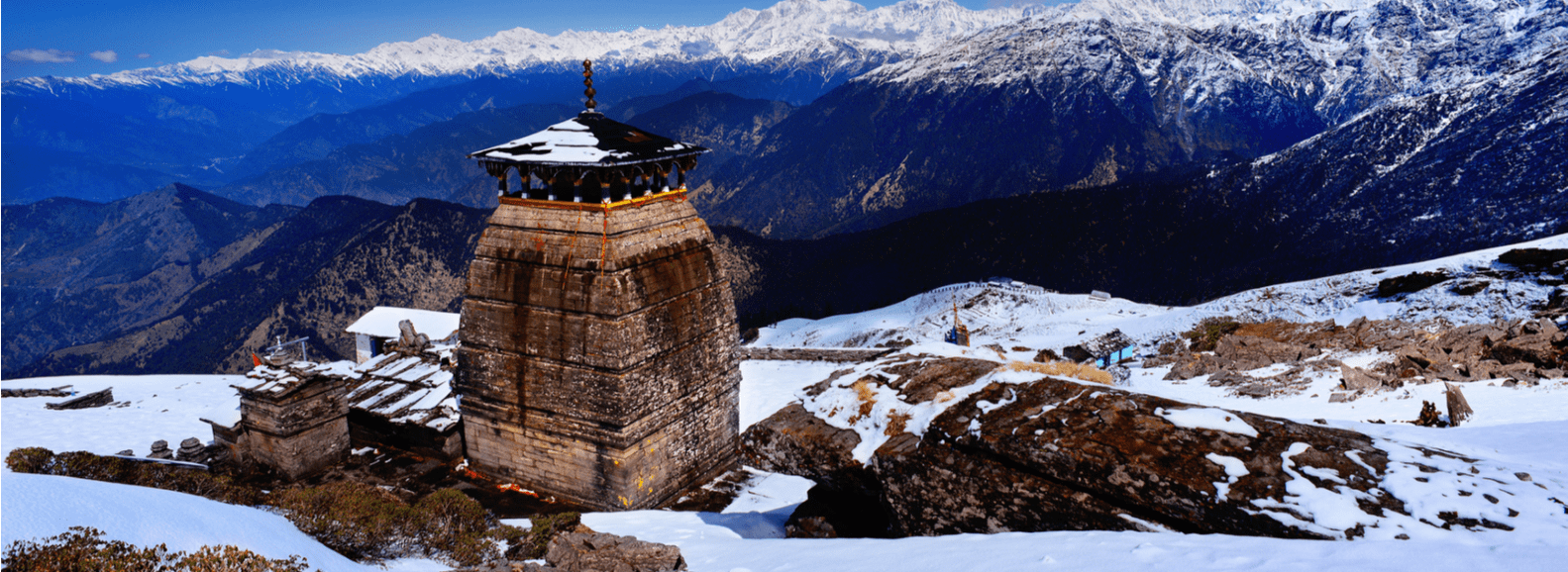 Tungnath temple in Uttarakhand is the highest Lord Shiva temple and is a part of Panch Kedar yatra