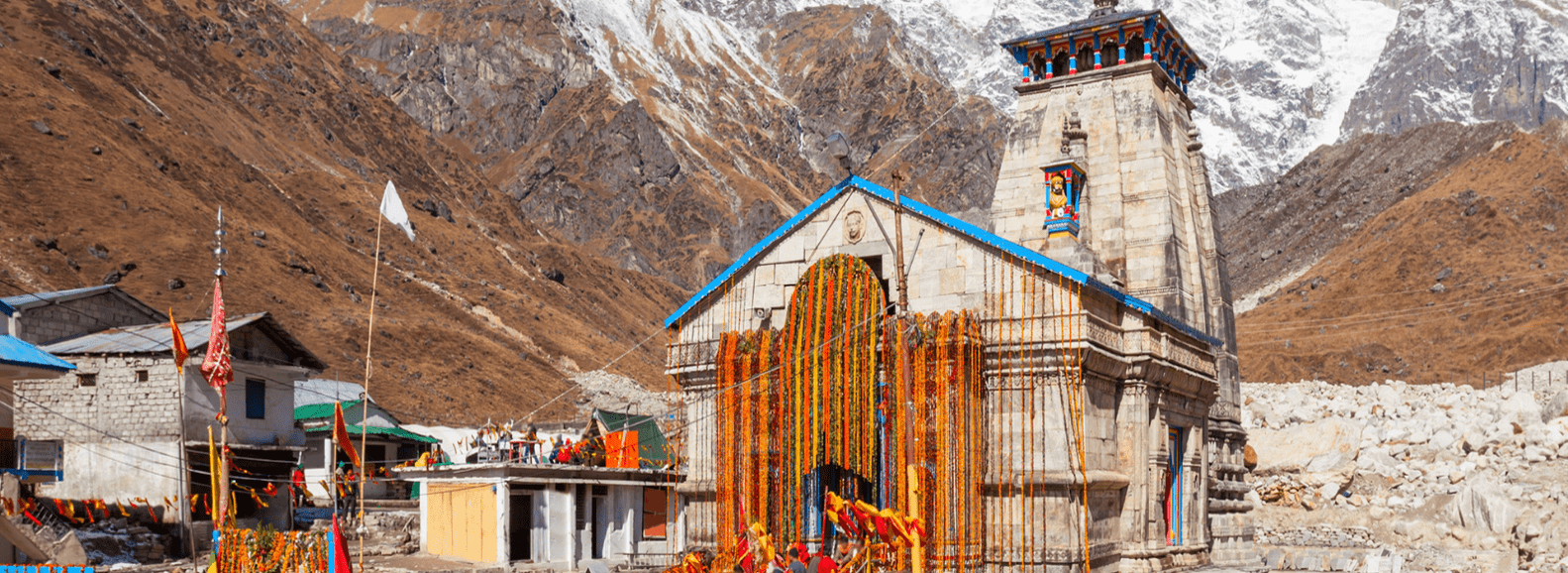 Kedarnath temple during Char Dham Yatra is one of the 12 Jyotirlingas in india and is a famous Lord Shiva temple
