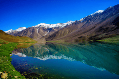 Chenab is a Small Crystalline Water Lake Near Joshimath Attracting Trek Lovers