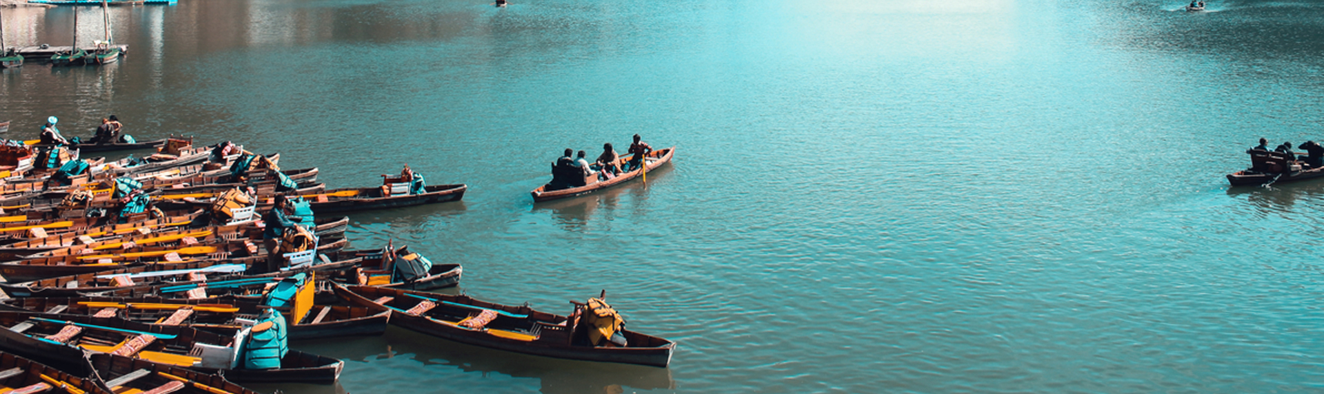 Boating in Nainital lake in Uttarakhand is one of the things to do in Nainital