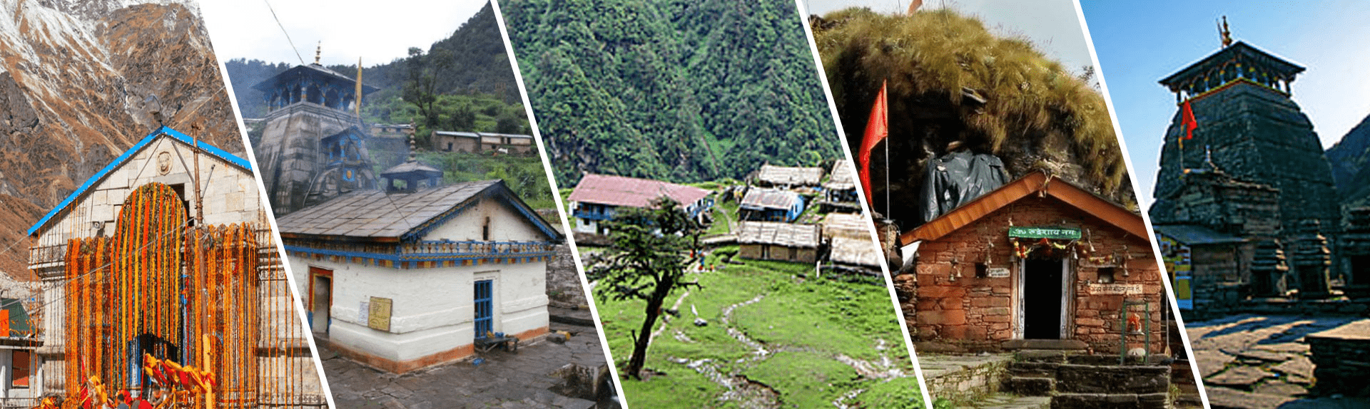 Uttarakhand's Panch Kedar Yatra is a sacred journey through Kedarnath temple, Tungnath temple, Madhyamaheshwar, Rudranath and Kalpanath